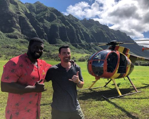 Magnum Helicopters- Magnum PI TV Show Cast