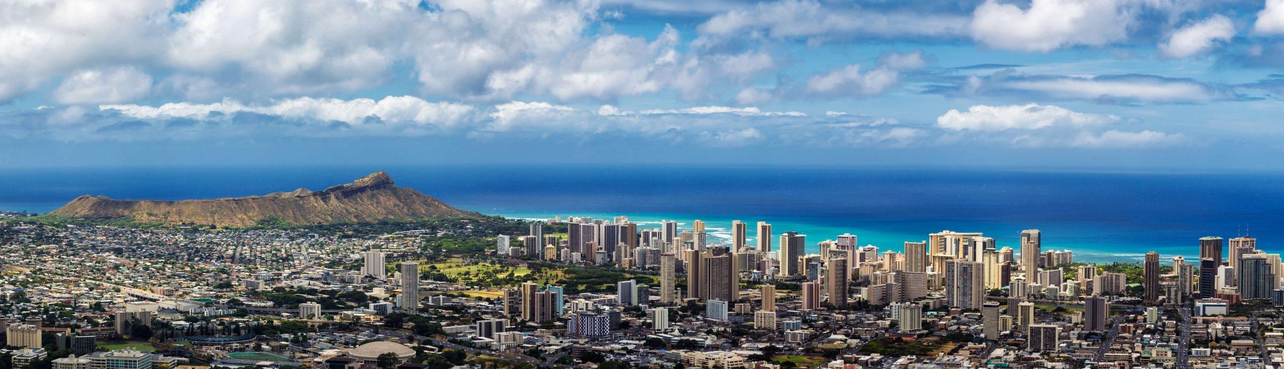 Magnum Helicopter Ride-Waikiki, Oahu, Hawaii